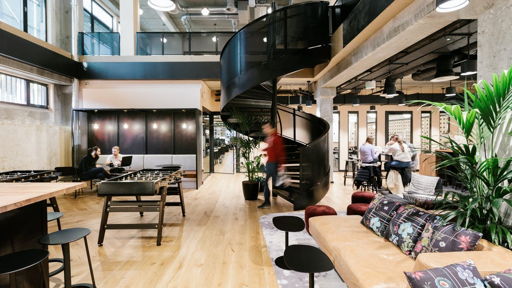 Coworking en Shoreditch Mark Square