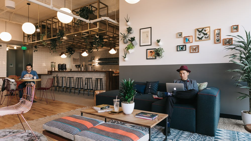 Coworking à The Hewitt, Shoreditch