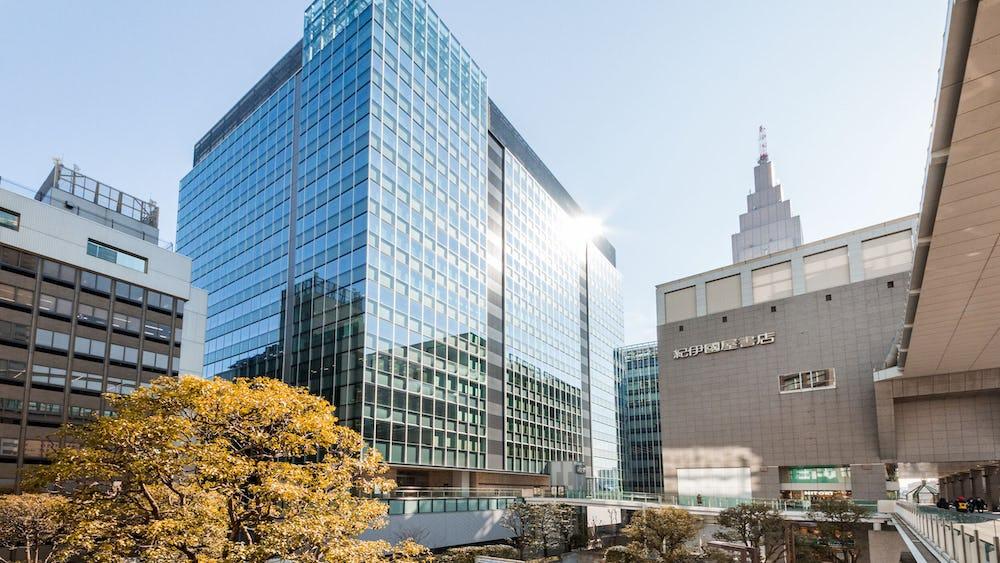Coworking en Link Square Shinjuku
