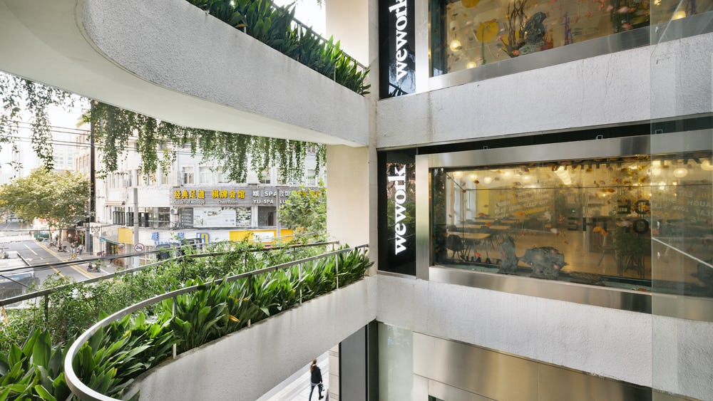 135 Yanping Lu Delad arbetsplats
