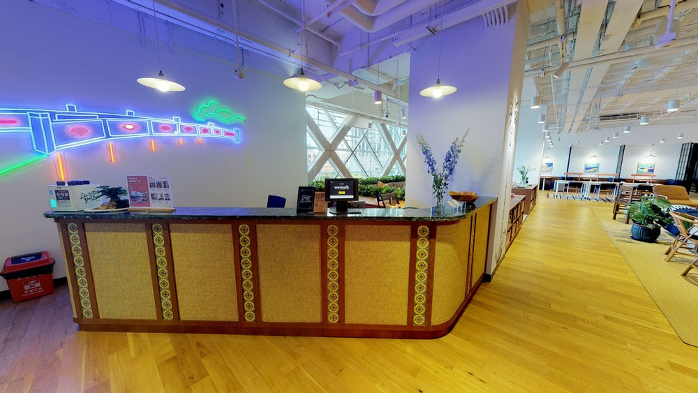 Coworking em Shanghai International Plaza
