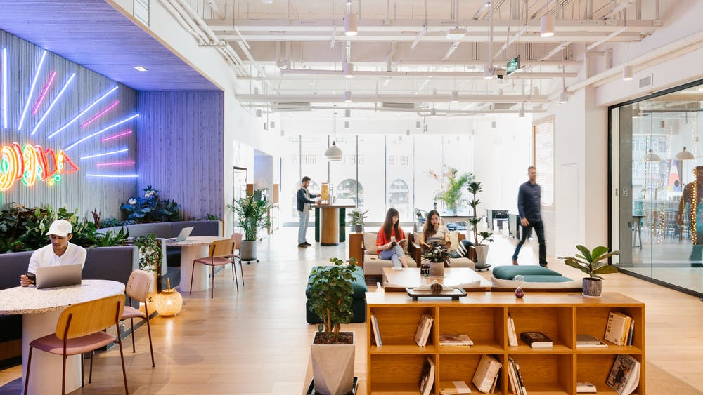 Coworking Qujiang Culture Business Club