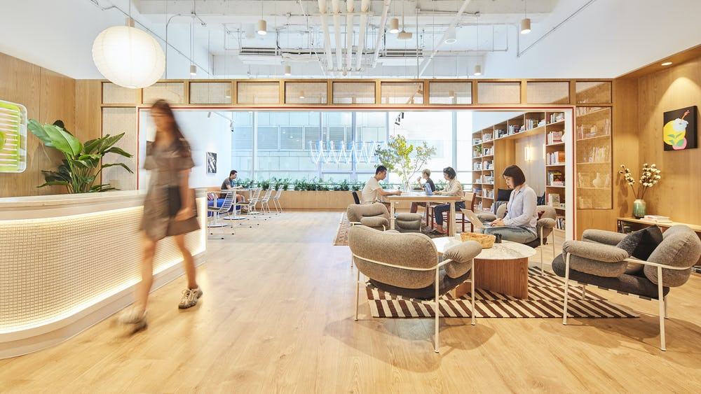 Coworking Internet Financial Center