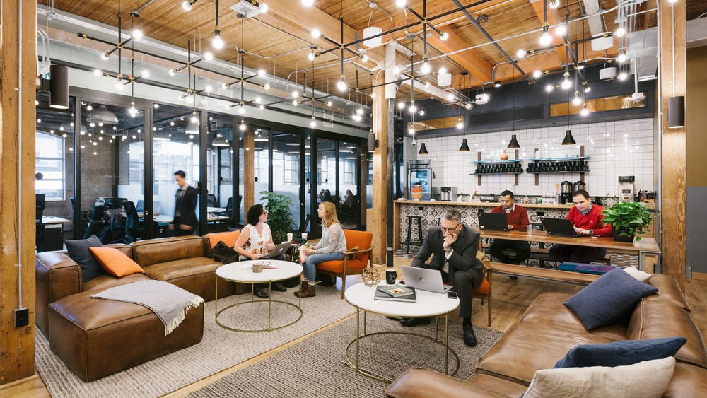 Coworking em Richmond Street West