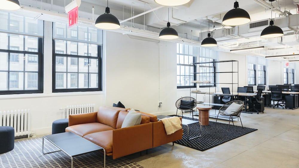 Flexwerken in 44 Wall Street