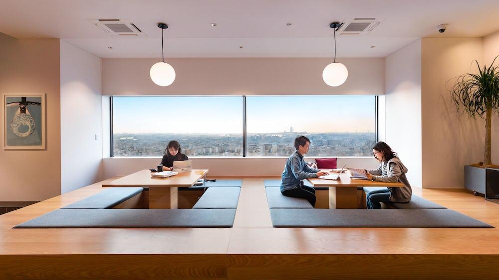 Không gian làm việc chung Kamiyacho