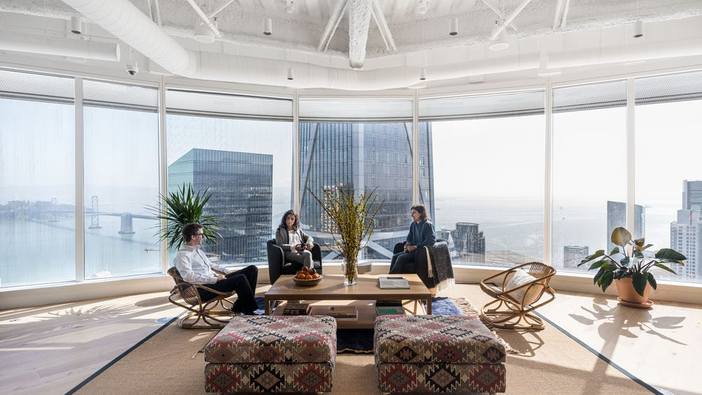 Không gian làm việc chung Salesforce Tower