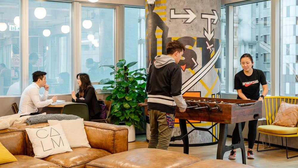 Coworking YF Life Tower