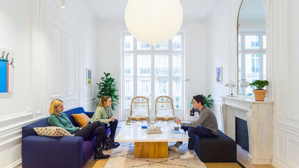 Coworkingové prostory 20 Rue la Fayette
