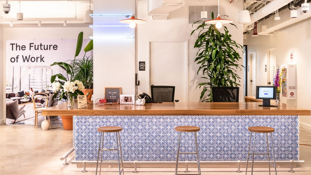 WeWork Place Reception