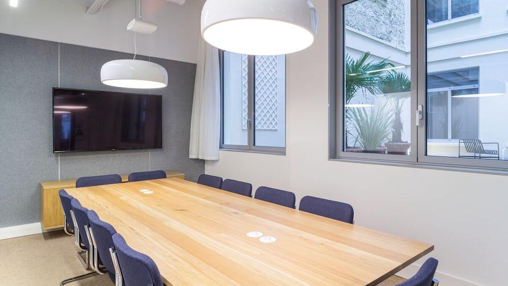Sala de reuniones en 67 Avenue de Wagram