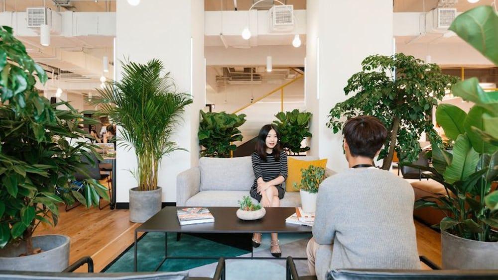 Coworking em Xintiandi Xinli