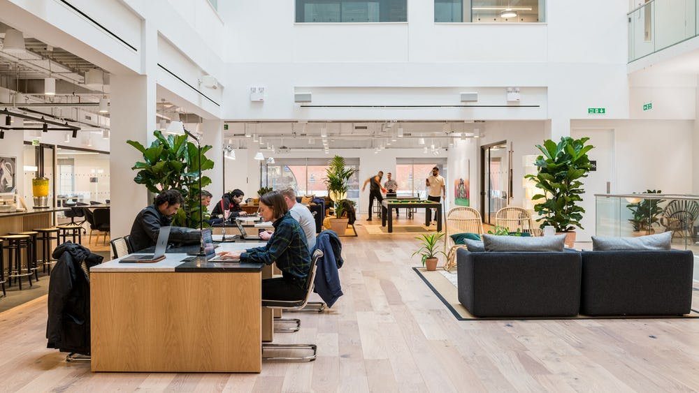 Coworking à 6 Brindleyplace