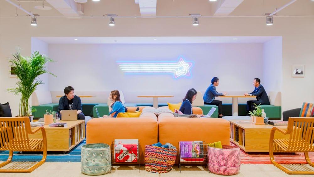 Coworkingové prostory Nishishimbashi