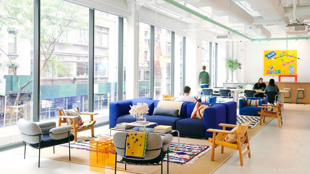 Flexwerken in 110 Atrium