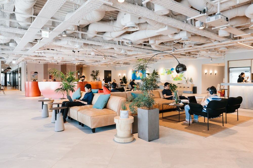 444ac420b990f Coworking Office Space Ginza Six