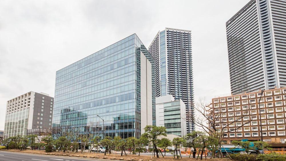 Fælles arbejdsområde i Daiwa Harumi