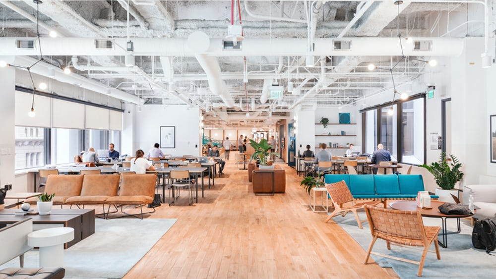 Coworking WeWork Place