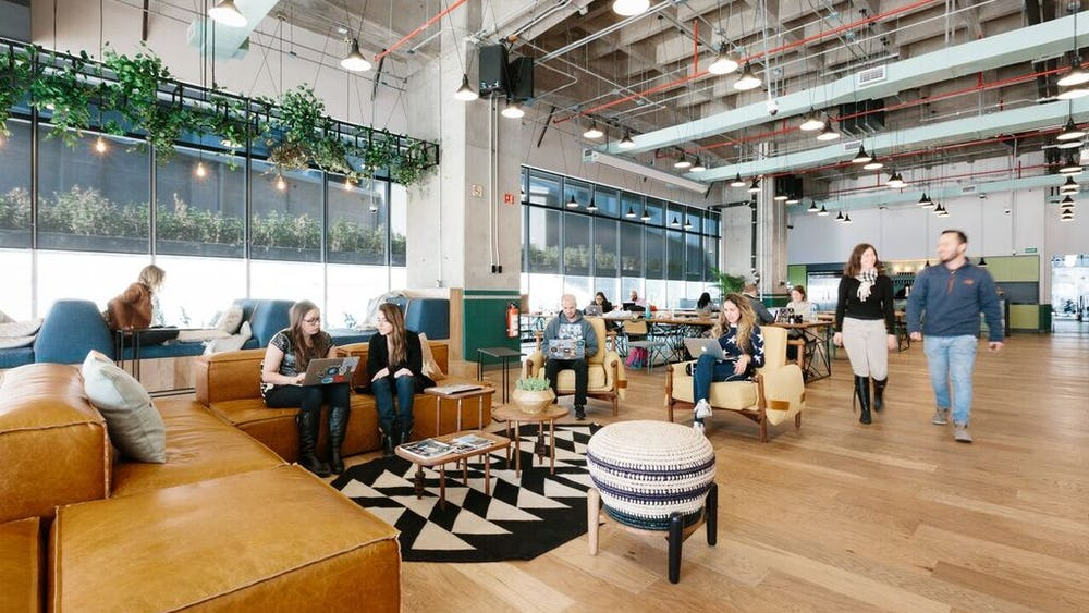 128 S Tryon St coworking