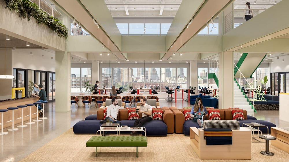 Coworking em Dock 72 at the Brooklyn Navy Yard