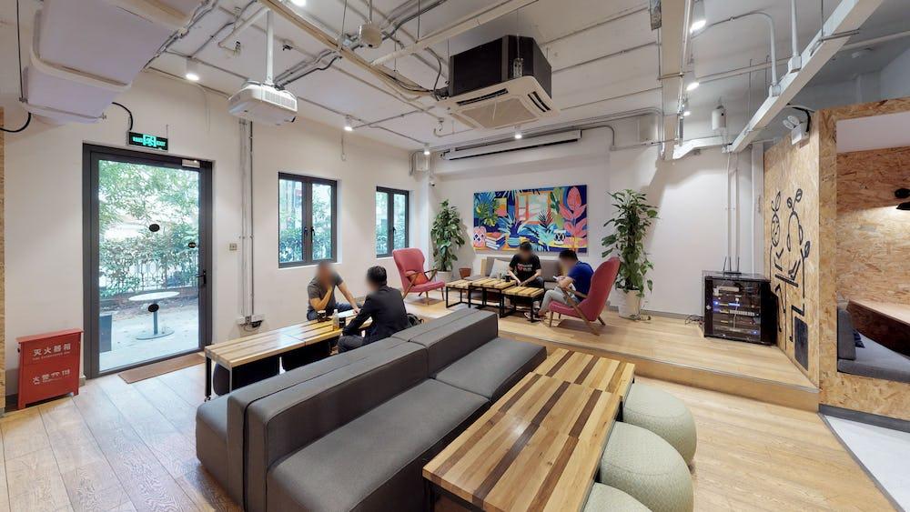 Fælles arbejdsområde i 328 Hunan Lu
